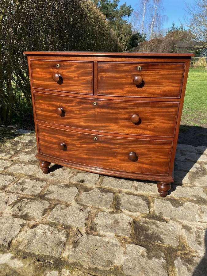 19TH CENTURY SMALL PROPORTION MAHOGANY DRAWERS